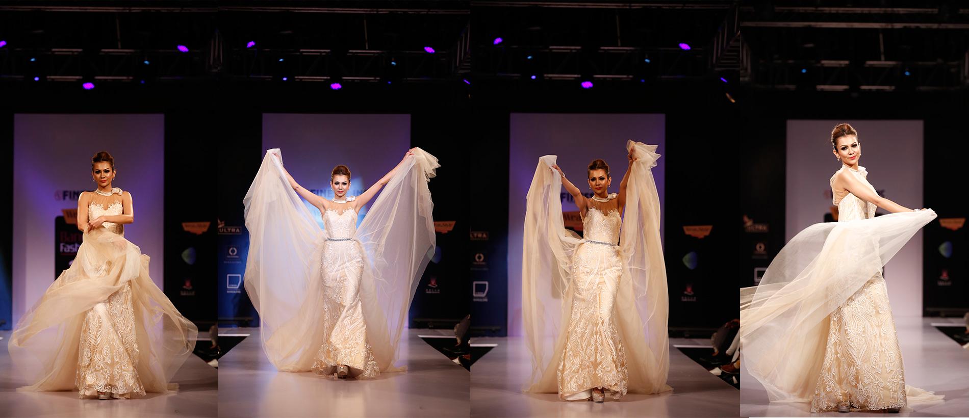 The Bride's Wedding Veil