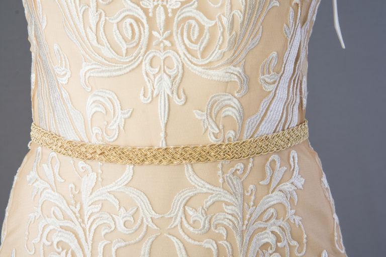 wedding-accessories-2018-belt-golden-french-braid